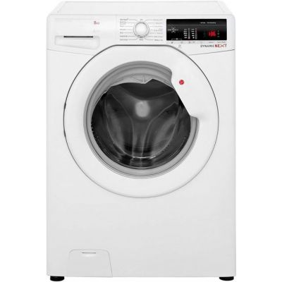 Hoover Dynamic Next DXOA148TLW3 8Kg Washing Machine with 1400 rpm - White - A+++ Rated Best Price, Cheapest Prices