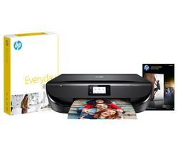 HP ENVY 5020 Wireless All-in-One Printer, Paper & Ink Grab and Go Bundle Best Price, Cheapest Prices