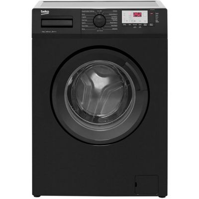 Beko WTG641M1B 6Kg Washing Machine with 1400 rpm - Black - A+++ Rated Best Price, Cheapest Prices