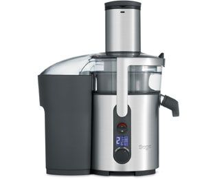 Sage The Nutri Juicer Plus BJE520UK Centrifugal Juicer - Brushed Steel Best Price, Cheapest Prices
