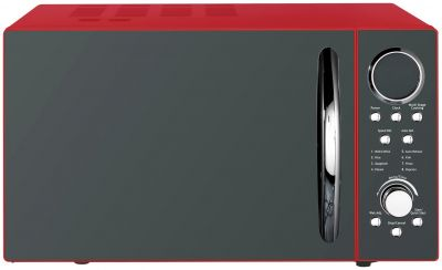 Morphy Richards 900W Standard Microwave P90D23ELB8 - Red Best Price, Cheapest Prices