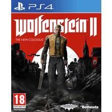 Wolfenstein II The New Colossus PS4 Game Best Price, Cheapest Prices