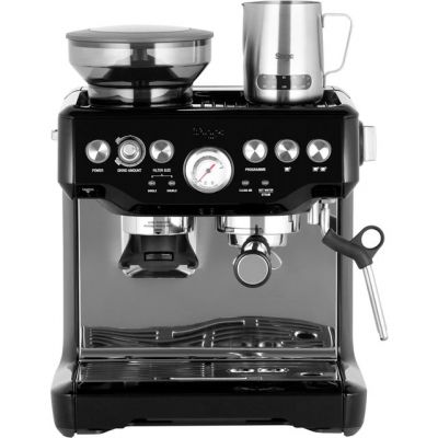 Sage The Barista Express BES875BKS Espresso Coffee Machine with Integrated Burr Grinder - Black Best Price, Cheapest Prices