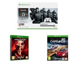 MICROSOFT Xbox One S Gears 5 Special Edition Bundle, Tekken 7 & Project Cars 2 Bundle Best Price, Cheapest Prices
