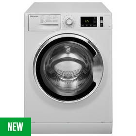 Hotpoint NM111045WCAUK 10KG 1400 Spin Washing Machine -White Best Price, Cheapest Prices