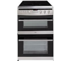 AMICA 608DCE2Ta(Xx) Electric Ceramic Cooker - Stainless Steel Best Price, Cheapest Prices