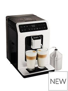 Krups Evidence Connected Ea893D40 Espresso Bean To Cup Coffee Machine - Metal Best Price, Cheapest Prices