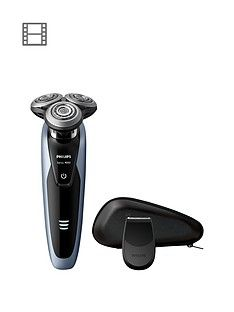 Philips Series 9000 Wet and Dry Men's Electric Shaver with Precision Trimmer - S9211/12 Best Price, Cheapest Prices