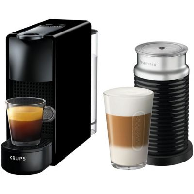 Nespresso by Krups Essenza & Milk XN111840 - Piano Black Best Price, Cheapest Prices