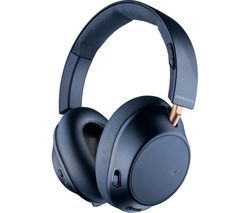 PLANTRONICS Back Beat Go 810 Wireless Bluetooth Noise-Cancelling Headphones - Navy Blue Best Price, Cheapest Prices