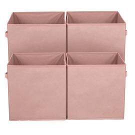 Argos Home Pack of 4 Canvas Boxes Best Price, Cheapest Prices