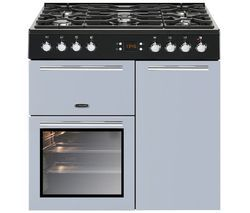 LEISURE AL90F230B Dual Fuel Range Cooker - Blue Best Price, Cheapest Prices