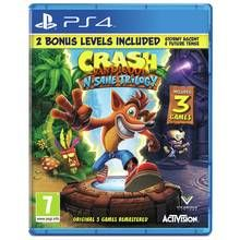 Crash Bandicoot N.Sane Trilogy PS4 Game Best Price, Cheapest Prices