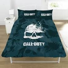 Call of Duty Skull Duvet Set - Double Best Price, Cheapest Prices
