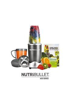 NUTRIBULLET Graphite 600 8-Piece Set Best Price, Cheapest Prices