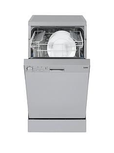 Beko DFS05010S 10-Place Slimline Dishwasher - Silver Best Price, Cheapest Prices