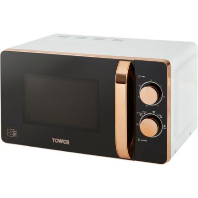 Tower T24020W 20 Litre Microwave - White Best Price, Cheapest Prices