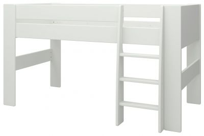 Argos Home Memphis White Mid Sleeper Bed Frame Best Price, Cheapest Prices