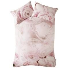 Karl Lagerfeld Rana Rose Pink Bedding Set - Kingsize Best Price, Cheapest Prices