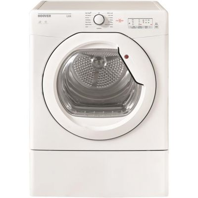 Hoover Link HLV10LG 10Kg Vented Tumble Dryer - White - C Rated Best Price, Cheapest Prices