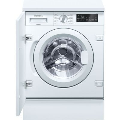 Siemens IQ-700 WI14W500GB Integrated 8Kg Washing Machine with 1400 rpm - A+++ Rated Best Price, Cheapest Prices