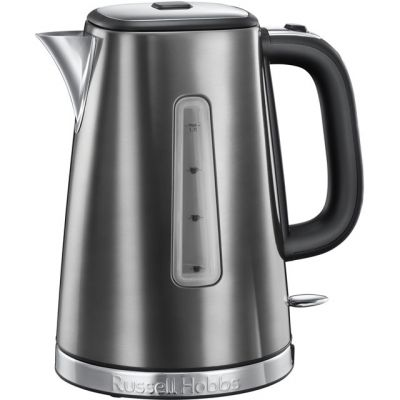 Russell Hobbs Luna Quiet Boil 23211 Kettle - Grey Best Price, Cheapest Prices