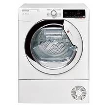 Hoover DXC 8TCE 8KG Condenser Tumble Dryer - White Best Price, Cheapest Prices