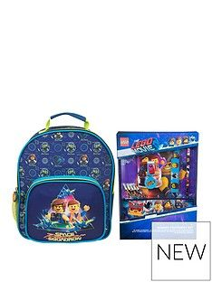 LEGO The LEGO Movie 2 Deluxe Junior Backpack & Bumper Stationery Set Best Price, Cheapest Prices