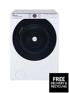 Hoover Axi AWMPD610LH810kgLoad, 1600 Spin Washing Machine with AI technology - White/Tinted Best Price, Cheapest Prices