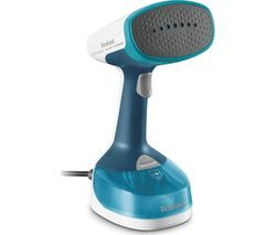 TEFAL Access DT7050 Travel Hand Steamer - Blue & White Best Price, Cheapest Prices