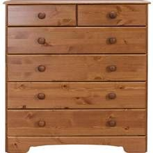 Argos Home Nordic 4+2 Drawer Chest Best Price, Cheapest Prices