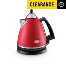 De'Longhi Argento Pyramid Kettle - Red Best Price, Cheapest Prices
