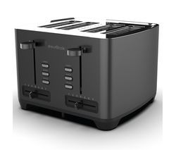 DREW & COLE 4-Slice Toaster - Charcoal Best Price, Cheapest Prices