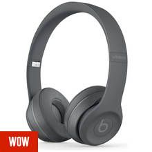 Beats by Dre Solo 3 On-Ear Wireless Headphones- Asphalt Grey Best Price, Cheapest Prices