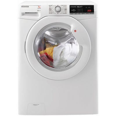 Hoover Dynamic Next Advance DXOA147LW3 7Kg Washing Machine with 1400 rpm - White - A+++ Rated Best Price, Cheapest Prices
