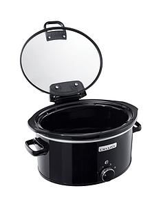 Crock-Pot 5.70-LitreHinged Lid Slow Cooker Best Price, Cheapest Prices