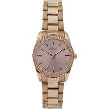 Accurist Ladies' Stone Set Rose Gold Plated Bracelet Watch Best Price, Cheapest Prices