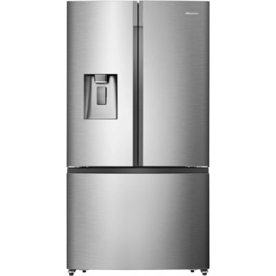 Hisense RF702N4IS1 American Fridge Freezer - Stainless Steel - A+ Rated Best Price, Cheapest Prices