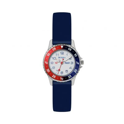 Tikkers Childrens Blue Silicone Strap Watch Best Price, Cheapest Prices