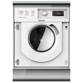 Hotpoint WDIL7148 Integrated 7KG 1400 Washing Machine -White Best Price, Cheapest Prices