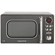 Morphy Richards Evoke Black Microwave 20L Solo 800w 511500 Best Price, Cheapest Prices