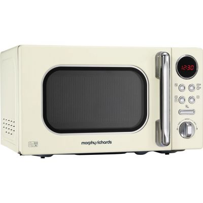 Morphy Richards Evoke 511501 20 Litre Microwave - Cream Best Price, Cheapest Prices