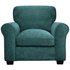 Argos Home Tammy Fabric Armchair - Teal Best Price, Cheapest Prices