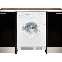 White Knight C43AW Integrated Tumble Dryer - White Best Price, Cheapest Prices