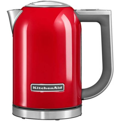KitchenAid 5KEK1722BER Kettle with Temperature Selector - Empire Red Best Price, Cheapest Prices