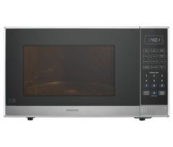 KENWOOD K25MSS19 Solo Microwave - Silver Best Price, Cheapest Prices
