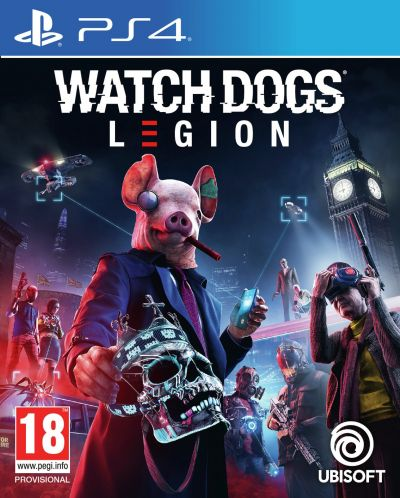 Watch Dogs Legion PS4 Pre-Order Game Best Price, Cheapest Prices