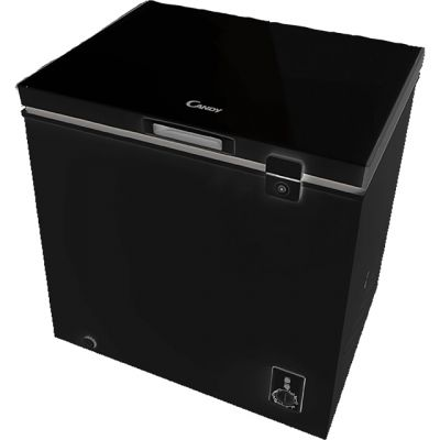 Candy CMCH100BUK Chest Freezer - Black - A+ Rated