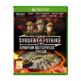 Sudden Strike 4 European Battlefields Edn Xbox One Best Price, Cheapest Prices