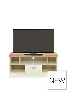 Swift Charlotte Ready Assembled Tv Unit - Fits Up To 42 Inch Tv Best Price, Cheapest Prices